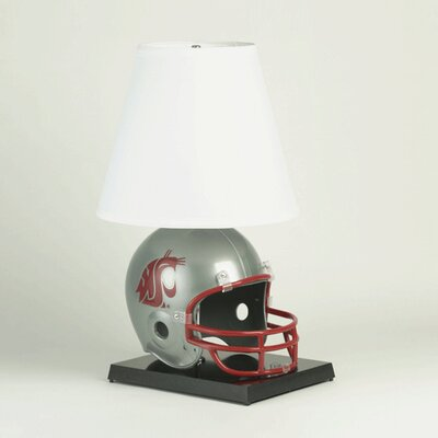 """Wincraft, Inc. Collegiate NCAA Deluxe Helmet 24"""" H Table Lamp with Empire Shade"""