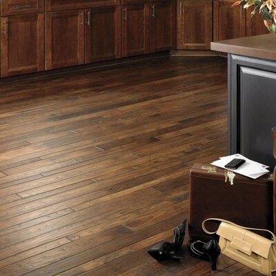 Appalachian Flooring SAMPLE - Colonial Manor Random Width Solid Hickory in Hobnail