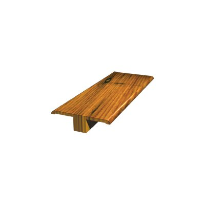 "LM Flooring 78"" Bamboo T-Molding in Carbonized"