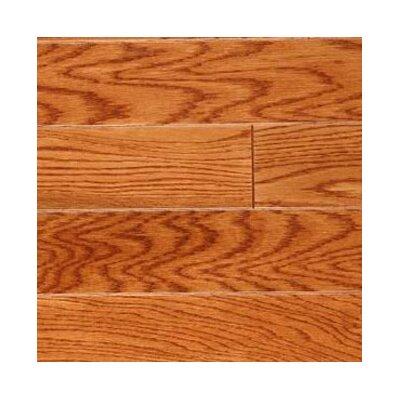 "LM Flooring Gevaldo 3"" Engineered White Oak Hardwood Flooring in Gunstock"