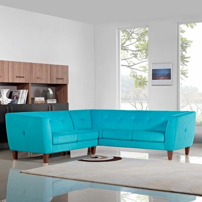 Corner Sectional by Diamond Sofa