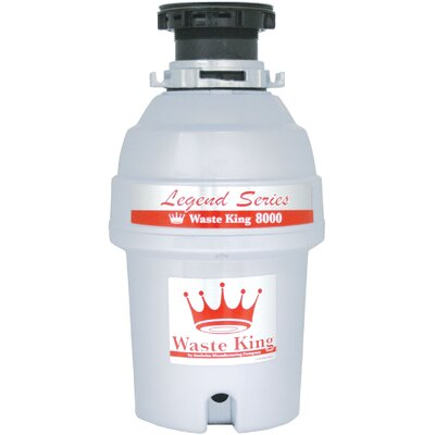 Legend Series 1 HP EZ-Mount Garbage Disposal with Continuous Feed Product Photo