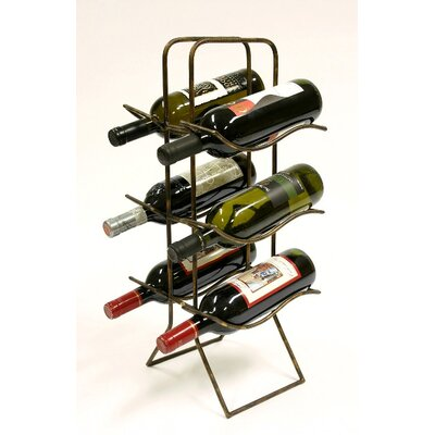 Xiafeng 6 Bottle Tabletop Wine Rack by Creative Creations