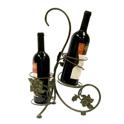 Xiafeng 2 Bottle Tabletop Wine Rack by Creative Creations