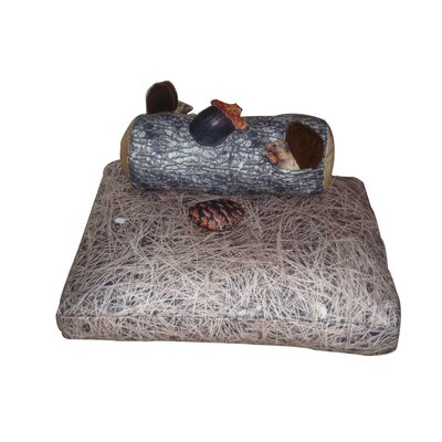 Squirrel Dog Pillow and Toys Set by Dogzzzz
