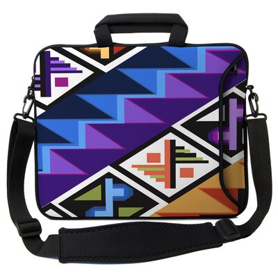 Executive Sleeves Tropical Textile PC Laptop Bag by Designer Sleeves