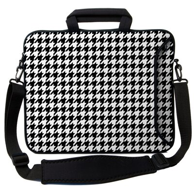 Executive Sleeves Houndstooth PC Laptop Bag by Designer Sleeves