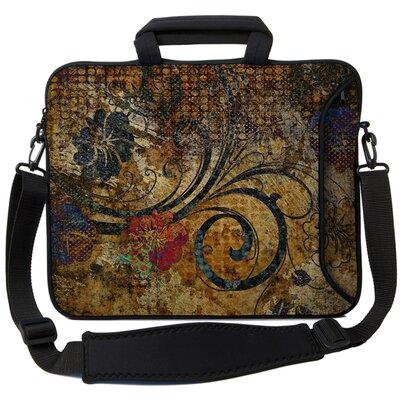Executive Sleeves Vintage Fleur PC Laptop Bag by Designer Sleeves