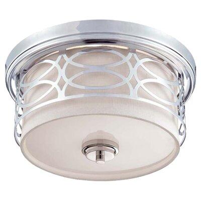 Harlow 2 Light Flush Mount Product Photo