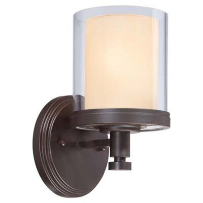 Nuvo Lighting Decker 1 Light Bath Vanity Light