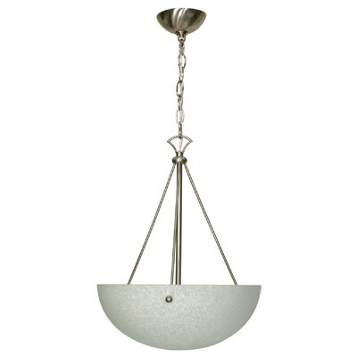 Nuvo Lighting South Beach 3 Light Inverted Pendant