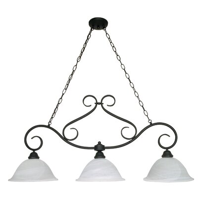 Nuvo Lighting Castillo 3 Light Chandelier