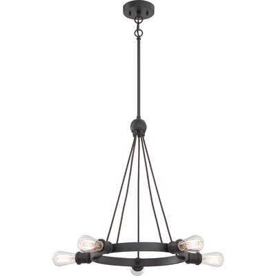 Paxton 5 Light Mini Chandelier Product Photo