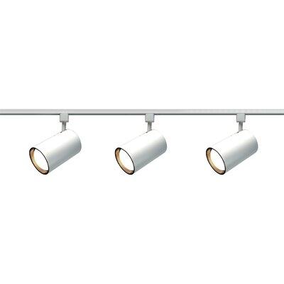 3 Light Straight Cylinder Track Light Kit Product Photo