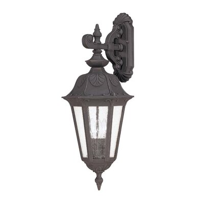 Nuvo Lighting Cortland 3 Light Wall Lantern