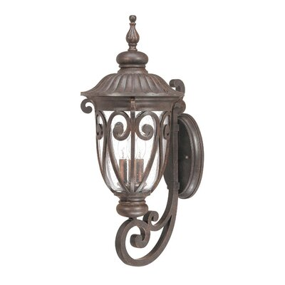 Nuvo Lighting Corniche 3 Light Wall Lantern