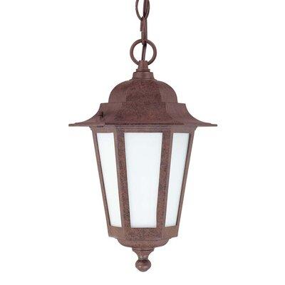 Nuvo Lighting Cornerstone 1 Light Outdoor Hanging Lantern