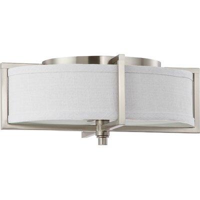 Portia 2 Light Flush Mount Product Photo