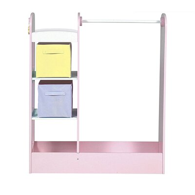 See and Store Dress Up Center in Pastel by Guidecraft