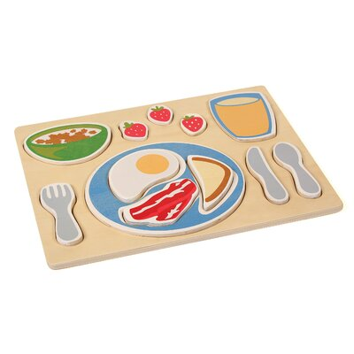 Breakfast Sorting Food Tray by Guidecraft