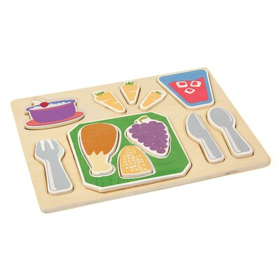 Dinner Sorting Food Tray by Guidecraft
