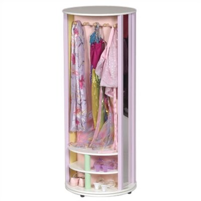Guidecraft Pastel Dress-Up Carousel Armoire