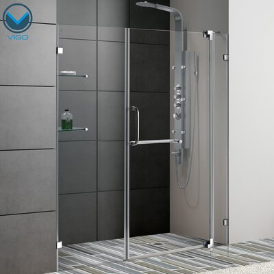 "72"" x 66"" Pivot Shower Door Product Photo"