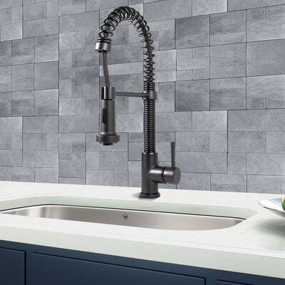 Single Handle Pull-Down Spray Kitchen Faucet by Vigo
