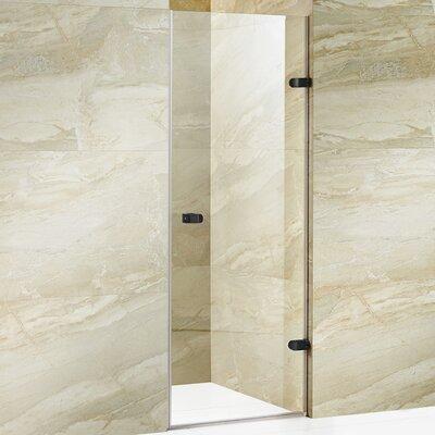 "Tempo 70.63"" x 28"" Adjustable Frameless Shower Door Product Photo"