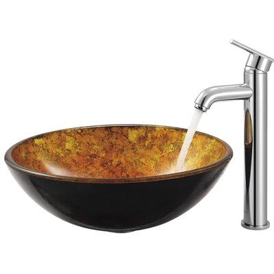 Single Hole Vessel Seville Faucet with Single Handle Product Photo