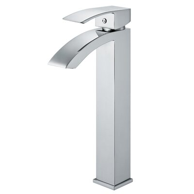 Single Hole Angled Faucet with Single Handle Product Photo