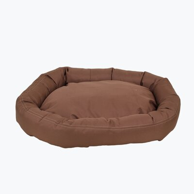 Brutus Tuff Comfy Cup Bolster Dog Bed by Zoey Tails