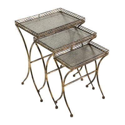 Simone 3 Piece Nesting Tables by IMAX