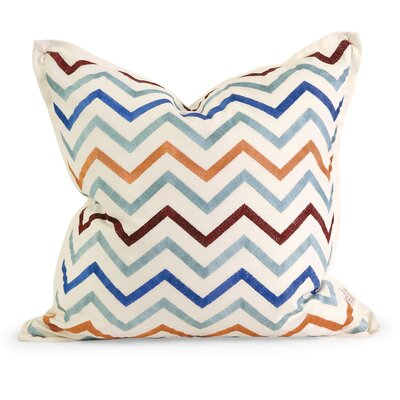 IK Zola Cotton Throw Pillow by IMAX