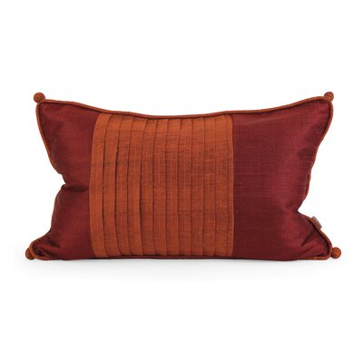 IK Nodia Thai Silk Lumbar Pillow by IMAX