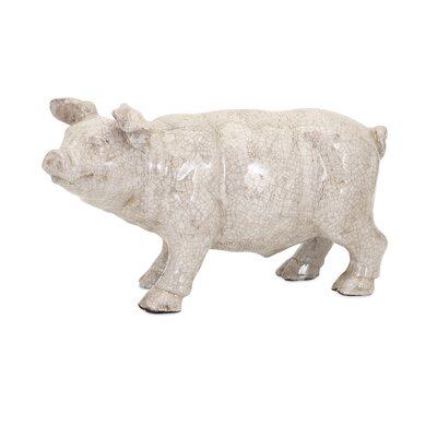 Wilber Ceramic Pig Statue by IMAX