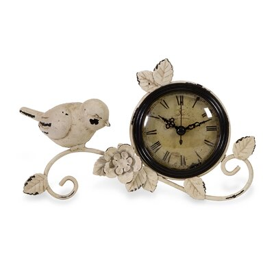 IMAX Bird Tabletop Clock