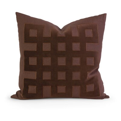 IK Kavita Applique Linen Throw Pillow by IMAX
