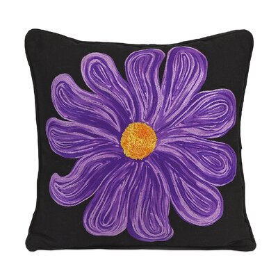 Bloom Cotton Throw Pillow by IMAX