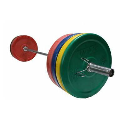 VTX by Troy Barbell VTX Bumper Plate Weight Set