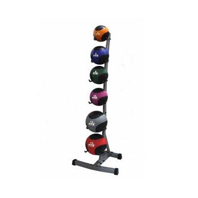 Troy Barbell VTX Medicine Ball Set with Rack