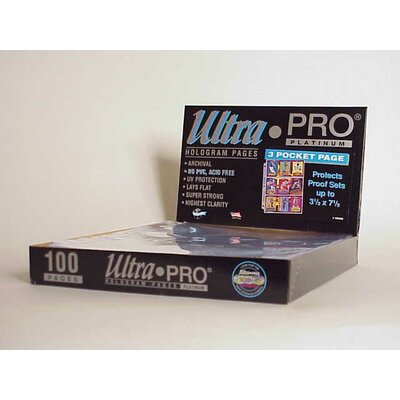 """Ultra Pro 7.5"""" x 3.5"""" Proof Sets Display Box (3 Pocket Pages)"""