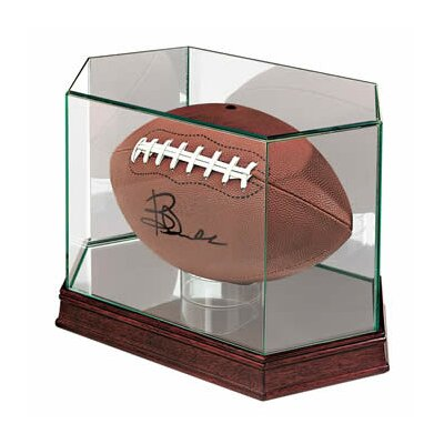 Ultra Pro Football Glass Display Case