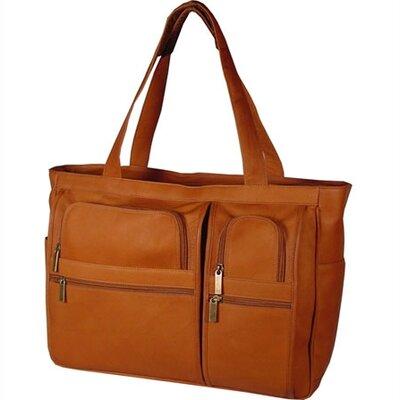David King Women's Leather Laptop Briefcase