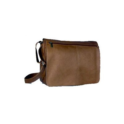 Vaquetta Leather Messenger Bag by David King