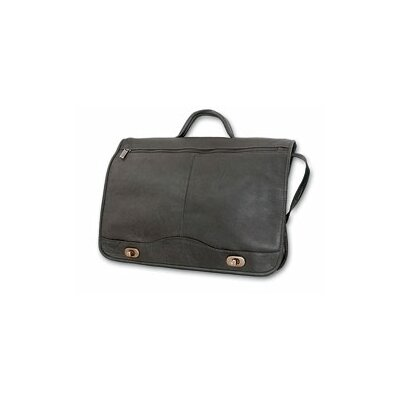 Full Leather Briefcase by David King
