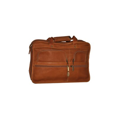 Leather Laptop Briefcase by David King