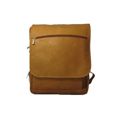Large Laptop Flapover Backpack by David King