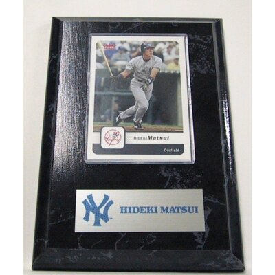 Sports Images Sports Images Card Plaque MLB PLQBBNYYHM Card  - New York Yankees Memorabilia Plaque