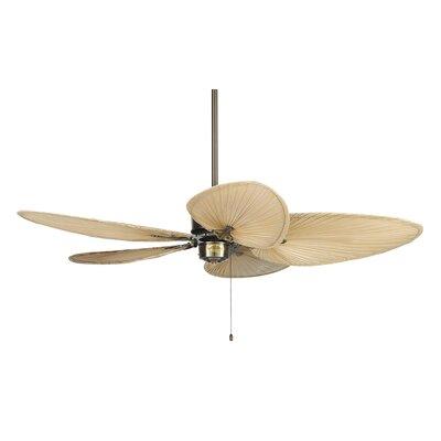 "52"" Islander 5 Narrow Bamboo Blade Ceiling Fan Product Photo"